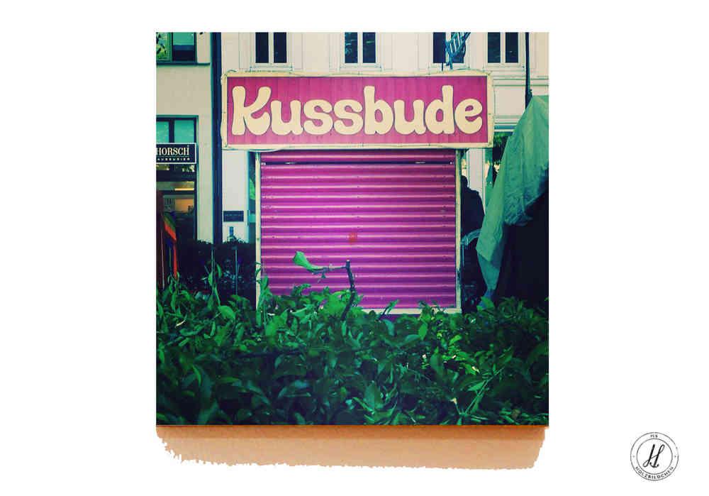 Kussbude In Hamburg Auf Holz Holzbildchen Online Drucken