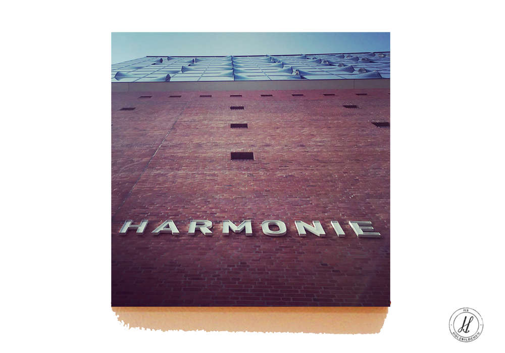 Foto Der Elbphilharmonie Hamburg Holzbildchen Online Drucken